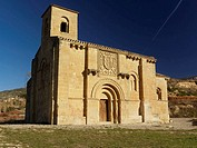 Nuestra Señora de la Piscina romanesque church. Rioja. Spain