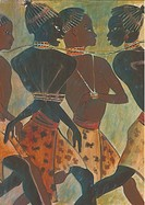 Painting of slave trade