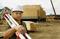 Multi-housing construction site