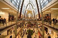 Germany, Karlsruhe, ECE-Center, indoors, Christmas-decoration,