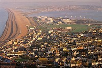 Chesil Beach, Weston. Isle of Portland, Dorset, England, UK