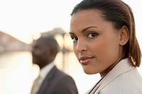 Close up of African American businesswomen