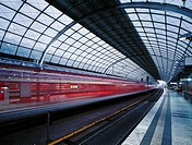 High speed train platform