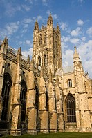 Cathedral, Canterbury. Kent, England, UK