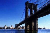 BROOKLYN BRIDGE. BROOKLYN. NEW YORK. USA