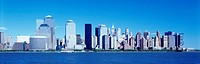 DOWNTOWN SKYLINE. MANHATTAN NEW YORK. USA