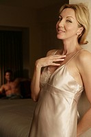 Mature couple in a bedroom (thumbnail)