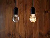 Two lightbulbs