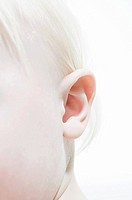 Ear of a baby