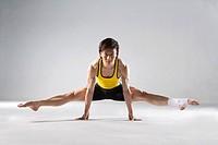 a male gymnast