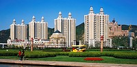 Buildings of Star Harbor Square, Dalian, Liaoning