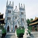the Xishenku church in Beijing,China