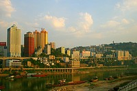 the scene of Chongqing city,China