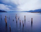 the Lugu Lake,China