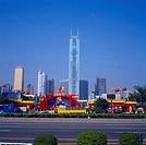 the Tianhe Sports Center in Guangzhou city,China