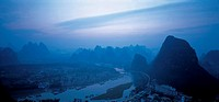 Lijiang River,Guilin city,Guangxi Province,China