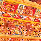 Architectural painting in Tibetan style