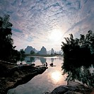Lijiang River in Guilin,Guangxi