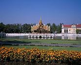 World Heritage Bangpain Palace Ayutthaya Thailand architecture