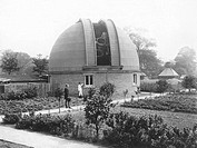 Crossley´s observatory. Astronomers working on the observatory founded by the British amateur astronomer Edward Crossley 1841_1905. Crossley, a wealth...