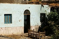 House along the canal of the West Bank