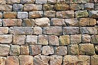 A Stone Wall,Magoksa Temple,Gongju,Chungnam,Korea