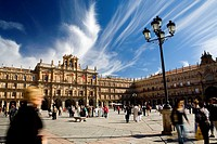 Town Hall in Main Square. Salamanca. Spain