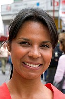 Portrait of a Brazilian woman in Sao Paulo, Brazil.