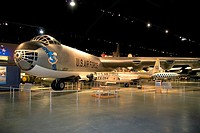 Interior image of the United States Air Force Museum on Wright Patterson Air Force Base at Dayton, Ohio.