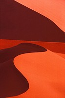 Sand Dune Formations, Namib_Naukluft Park, Sossusvlei, Namib Desert, Namibia, Africa