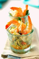 Thai prawn salad (thumbnail)