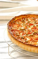 Tomato and olive tart (thumbnail)