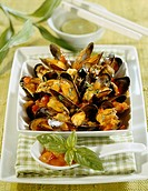 Mussels &#224; la provan&#231;al