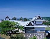 Kanazawa castle Row_house 50_ken Houses Kanazawa Ishikawa Japan