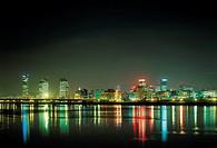 Night View,Yeouido,Seoul,Korea
