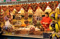Chocolate Vendor, Christmas Market, Bremen, Germany