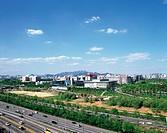 Olympic Expressway,Hangang River,Seoul,Korea