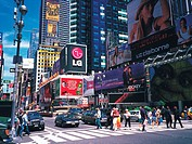 Times Square,Manhattan,New York,USA