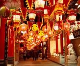 Lantern festival, Chinatown, Nagasaki, Nagasaki, Japan