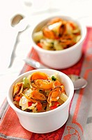 sweet and sour mussels