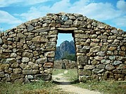 Inca Ruins Shinkal The State of Catamarca Argentina Mason Wall Clouds Blue sky