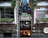Beatles shop Liverpool United Kingdom Poster