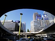 JR Shinjuku station west entrance before a station Shinjuku Tokyo Japan Building Building Car Vehicle, Transportation Vehicle, Transportation Traffic ...