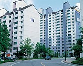 Apartments,Gyeonggi,Korea