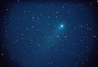 Halley´s comet Night sky Starlit sky Comet astronomy