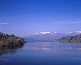 Lake Kamahusa, Zao mountains, Kawasaki, Miyagi, Japan