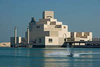 Museum at waterfront, Museum of Islamic Arts, Doha, Qatar