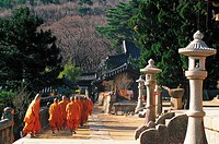Beomosa Temple,Mt. Geumjeongsan,Busan,Korea