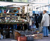 Dorego Square Antique city Buenos Aires Argentina Store Street stall People Goods