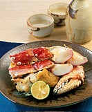 Baked King Crab